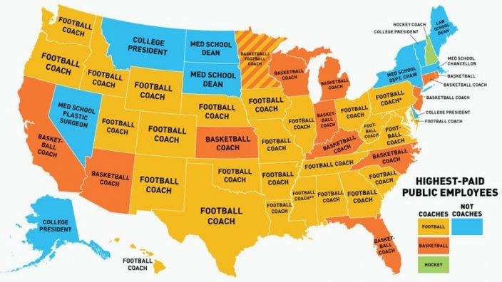 kart over stater i usa USA kart: Slik har du alrdi sett USA før   Nettmagasinet kart over stater i usa