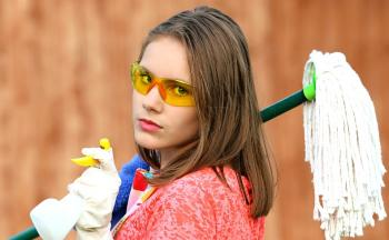 Husarbeid: Vaske og rydde