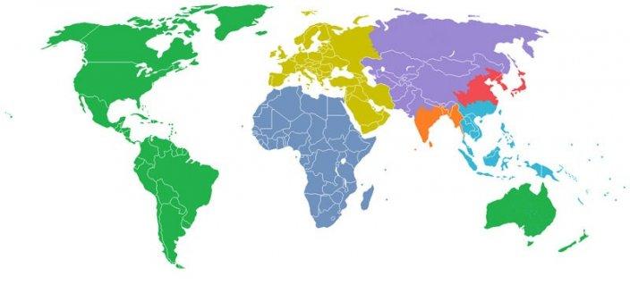 kart i verden Kart: Verdens befolkning   Nettmagasinet kart i verden